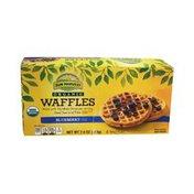 Sun Harvest Organic Waffles