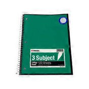Kaisa USA 3-Subject College Spiral Notebook