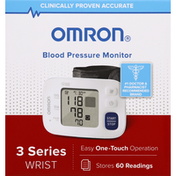 Omron Blood Pressure Monitor, 3 Series, Wrist