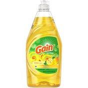 Gain Dishwashing Liquid Dish Soap, Lemon Zest Scent