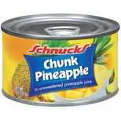 Schnucks In Unsweetened Pineapple Juice Chunk Pineapple