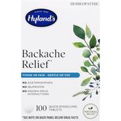 Hyland's Backache Relief, Quick-Dissolving Tablets