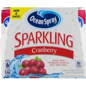 Ocean Spray Sparkling Cranberry - 6 CT