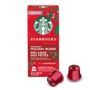 Starbucks Coffee Capsules for Nespresso Original Machines - Holiday Blend