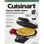 Cuisinart Waffle Maker, Classic, Brushed Stainless Series