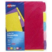 Avery Dividers, Reversible
