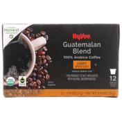 Hy-Vee Light Roast Guatemalan Blend 100% Arabica Coffee Single Serve Cups