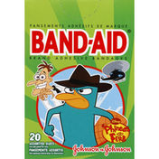 Band-Aid Adhesive Bandages, Disney Phineas and Ferb, Assorted Sizes