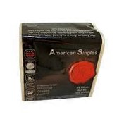 Natural & Kosher American Singles Pasteurized Prepared Cheese Product