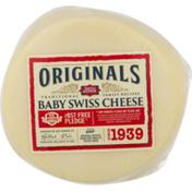 Dietz & Watson Originals Baby Swiss Cheese