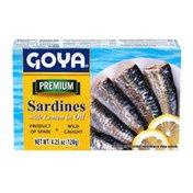 Goya Sardines, with Lemon in Oil