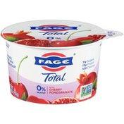FAGE Milkfat Greek Strained Yogurt with Cherry Pomegranate