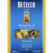 De Cecco Pasta, Rigatoni No. 24