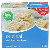 Food Club Original Saltine Crackers