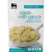 Food Lion Pasta, with Sauce, Butter & Herb, Pouch