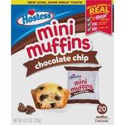 Hostess Chocolate Chip Mini Muffins Pouches