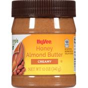 Hy-Vee Almond Butter, Honey, Creamy