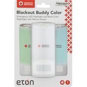Eton Emergency LED Flashlight, Blackout Buddy Color