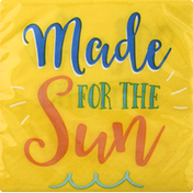 Party Creations Napkin, Summer Sayings Made Sun, 2 Ply
