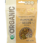 GoodSense Pumpkin Seeds, Organic, Roasted & Salted