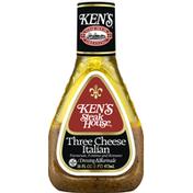 Ken's Steak House Dressing & Marinade, Three Cheese Italian