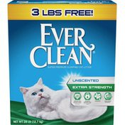 Ever Clean Extra Strength Unscented Clumping Cat Litter