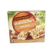 Meijer Peanuts SWEET & SALTY Granola Bars