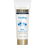 Gold Bond Skin Therapy Cream, Healing, Aloe