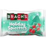 Brach's Cinnamon & Wintergreen Jelly Drops Flavored Holiday Spicettes Candy