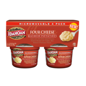 Idahoan Four Cheese Mashed Potatoes Cup 4-pack