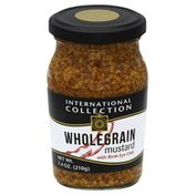 International Collection Mustard, Whole Grain, with Birds Eye Chili