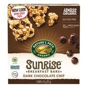 Nature's Path Sunrise Dark Chocolate Chip Breakfast Bars