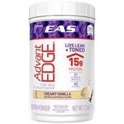 EAS AdvantEDGE Protein Powder Creamy Vanilla Powder Canister