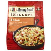 Jimmy Dean Bacon, Diced Potatoes, Red & Green Peppers & Onions, Skillets, Bag