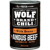 Wolf Brand Brand Chili With Beans Angus Beef