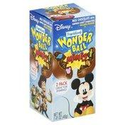 Frankford Wonder Ball, Milk Chocolate, Minis, 2 Pack