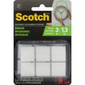 Scotch Fasteners Indoor White