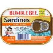 Bumble Bee Sardines in Hot Sauce