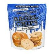 Hometown Bagel Chicago Style Bagel Chips Sea Salt