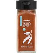 GreenWise Cayenne Pepper, Organic, Ground