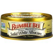 Bumble Bee Solid White Albacore in Water Gourmet Tuna