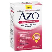 Azo Urinary + Vaginal Support, Capsules