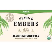 Flying Embers Hard Kombucha, Ginger