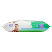 Tippy Toes Wipes, Fragrance Free