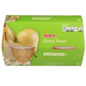 Hy-Vee Diced Pears In Light Syrup