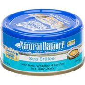 Natural Balance Delectable Delights Sea Brulee with Tuna, Whitefish & Carrots in Tasty Gravy Cat Food