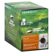 Green Mountain Coffee, Decaf, French Vanilla, K-Cup Pods