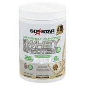 Six Star 100% Whey Protein Plus, Vanilla Cream