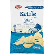 Hannaford Salt & Vinegar Kettle Chips