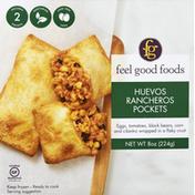 Feel Good Foods Breakfast Pockets, Huevos Rancheros